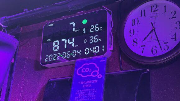 CO2 PM2.5 計測器