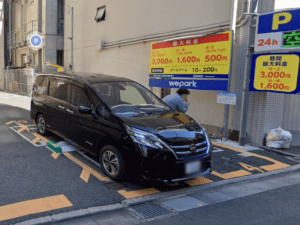 BECKアキバ周辺駐車場 3